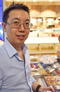 Author Shawn Seah