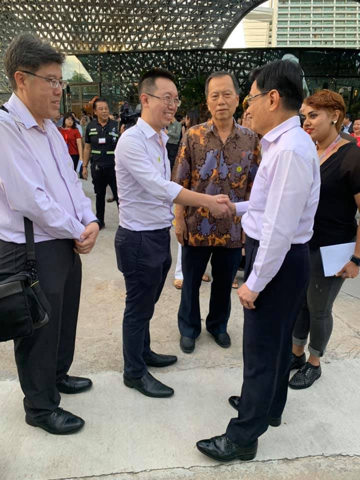 Meeting DPM Heng at FutureTogether Launch